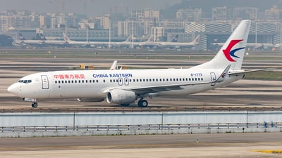 B-1773 - Boeing 737-89P - China Eastern Airlines