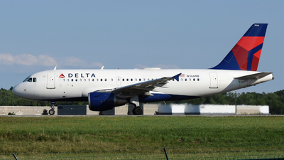 A picture of N366NB - Airbus A319114 - Delta Air Lines - © DJ Reed - OPShots Photo Team