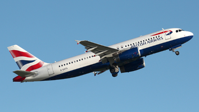 G-GATS - Airbus A320-232 - British Airways