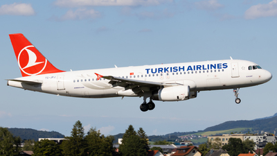 A picture of TCJPJ - Airbus A320232 - Turkish Airlines - © Alexander Jeglitsch
