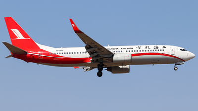 A picture of B5610 - Boeing 73786D - Shanghai Airlines - © Aviation Kai