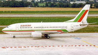 LZ-BOA - Boeing 737-53A - Balkan Bulgarian Airlines
