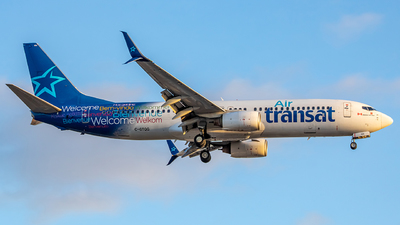 C-GTQG - Boeing 737-8Q8 - Air Transat
