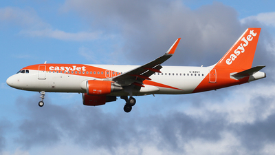 A picture of GEZGY - Airbus A320214 - easyJet - © Luke Wilson 729