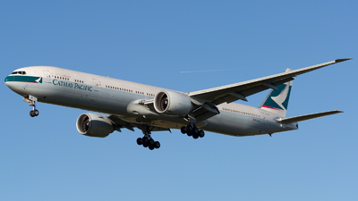 B-KQI - Boeing 777-367ER - Cathay Pacific Airways