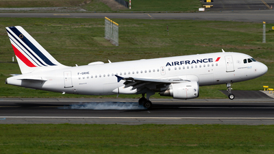 A picture of FGRHE - Airbus A319111 - Air France - © DN280