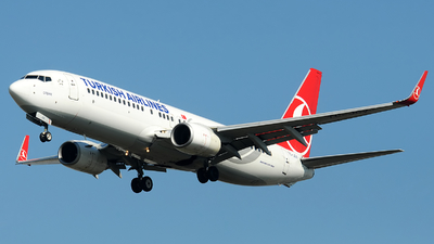 A picture of TCJGV - Boeing 7378F2 - Turkish Airlines - © Alexander Portas