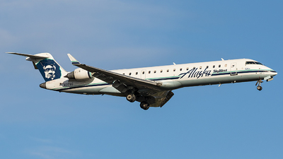 A picture of N217AG - Mitsubishi CRJ701ER - [10031] - © James Pentland