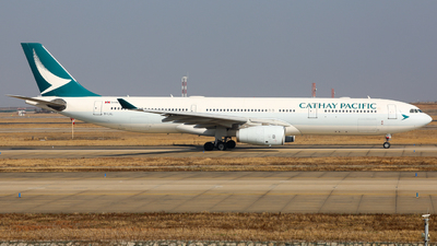 B-LAL - Airbus A330-343 - Cathay Pacific Airways