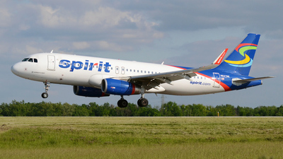 N627NK - Airbus A320-232 - Spirit Airlines