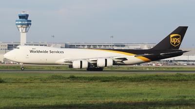 A picture of N615UP - Boeing 7478F - UPS - © André Klöckner