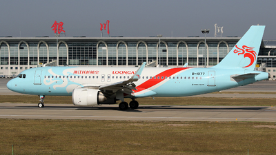 A picture of B1077 - Airbus A320251N - Loong Air - © lihutao