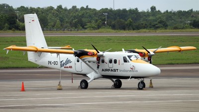 PK-OCI - Viking DHC-6-400 Twin Otter - Airfast Indonesia