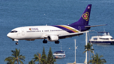 HS-TDG - Boeing 737-4D7 - Thai Airways International