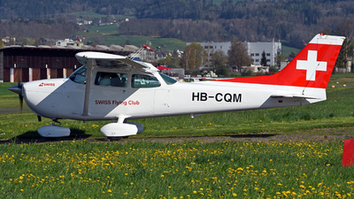 HB-CQM - Cessna 172N Skyhawk - Swiss Flying Club