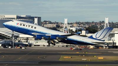 N107UA - Boeing 747-422 - United Airlines
