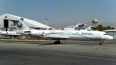 EP-ATC - Fokker 100 - Iran Aseman Airlines