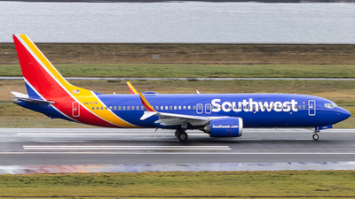 A picture of N8727M - Boeing 737 MAX 8 - Southwest Airlines - © Yishai Howe