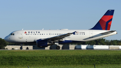 A picture of N318NB - Airbus A319114 - Delta Air Lines - © DJ Reed - OPShots Photo Team