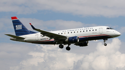 N811MD - Embraer 170-100SU - US Airways Express (Republic Airlines)