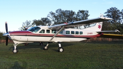 LV-WYR - Cessna 208B Grand Caravan - Argentina - Government of Chaco