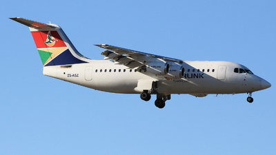 ZS-ASZ - British Aerospace Avro RJ85 - Airlink