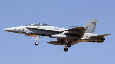 CE.15-11 - McDonnell Douglas EF-18B Hornet - Spain - Air Force