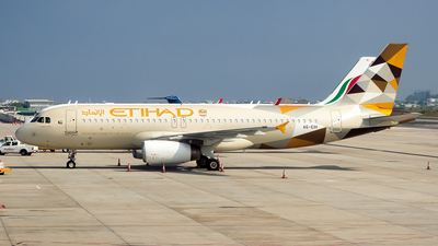 A6-EIH - Airbus A320-232 - Etihad Airways