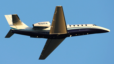 N263TA - Cessna 680 Citation Sovereign - Private