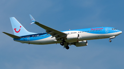 G-TAWF - Boeing 737-8K5 - Thomson Airways