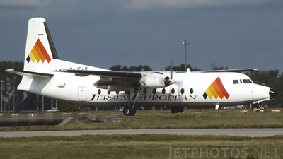 G-JEAH - Fokker F27-500F Friendship - Jersey European Airways