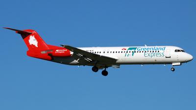 PH-MJP - Fokker 100 - Greenland Express