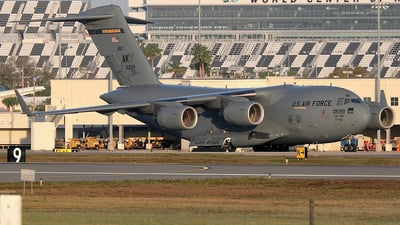 93-0599 - McDonnell Douglas C-17A Globemaster III - United States - US Air Force (USAF)