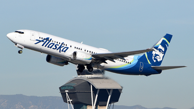 A picture of N585AS - Boeing 737890 - Alaska Airlines - © Rocky Wang
