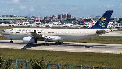 HZ-AQC - Airbus A330-343 - Saudi Arabian Airlines