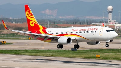 A picture of B7398 - Boeing 73786N - Hainan Airlines - © william8252
