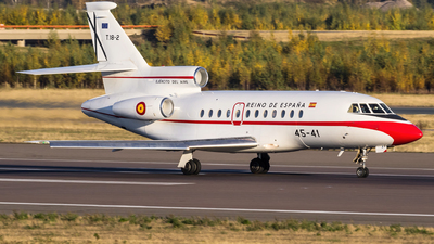 T.18-2 - Dassault Falcon 900 - Spain - Air Force