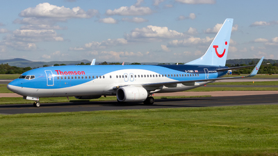 G-TAWA - Boeing 737-8K5 - Thomson Airways