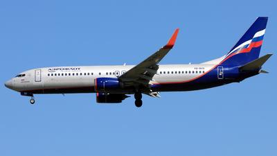 VQ-BVO - Boeing 737-8LJ - Aeroflot