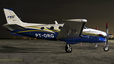 PT-ORG - Beechcraft C90B King Air - PEC Taxi Aereo
