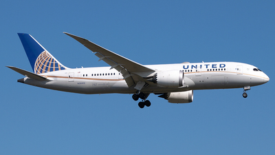 A picture of N26910 - Boeing 7878 Dreamliner - United Airlines - © Timo Duda