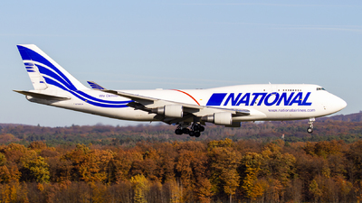 N756CA - Boeing 747-412(BCF) - National Airlines
