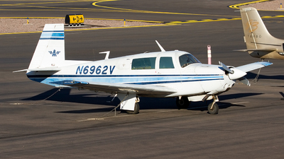 A picture of N6962V - Mooney M20F - [221329] - © Jeremy D. Dando