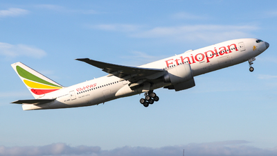 A picture of ETANO - Boeing 777260(LR) - Ethiopian Airlines - © Conor McGeehan