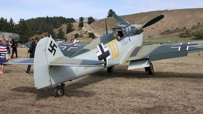 G-AWHK - Hispano HA1112 M1L Buchon - Private