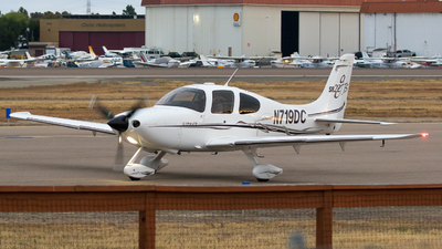 N719DC - Cirrus SR22-GTS - Private