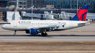 A picture of N348NB - Airbus A319114 - Delta Air Lines - © Nicholas Ambrosecchia