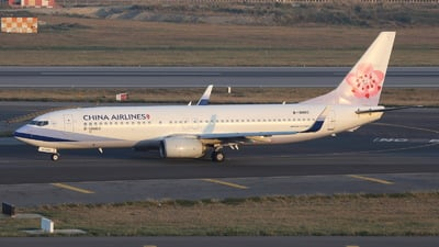 B-18660 - Boeing 737-8SH - China Airlines