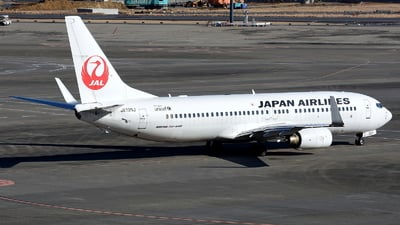 JA320J - Boeing 737-846 - Japan Airlines (JAL)
