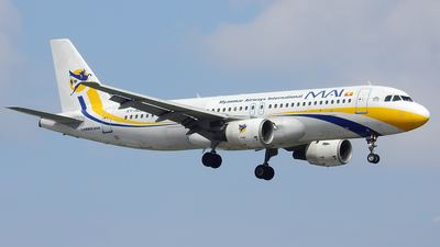 XY-AGO - Airbus A320-214 - Myanmar Airways International (MAI)